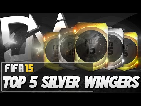 Top 5 Best Silver Wingers in FIFA 15 Ultimate Team  - Guide to Best Squad (FUT 15)