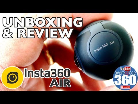 Insta 360 Air - Unboxing And Review