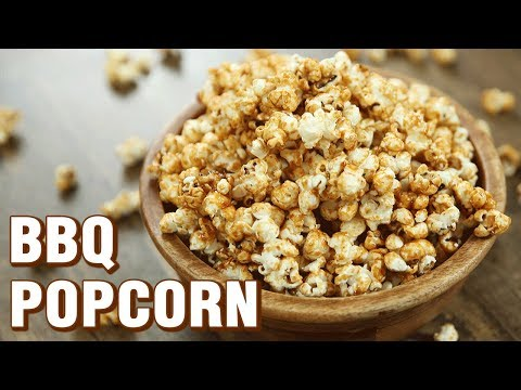 BBQ Popcorn Recipe - How To Make Barbeque Popcorn At Home - Indian Culinary League - Varun Inamdar