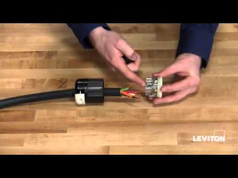 How to install a Leviton Industrial Locking Wiring Device