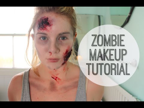 Zombie Makeup Tutorial: How to do The Walking Dead style zombie halloween makeup | Big Little World