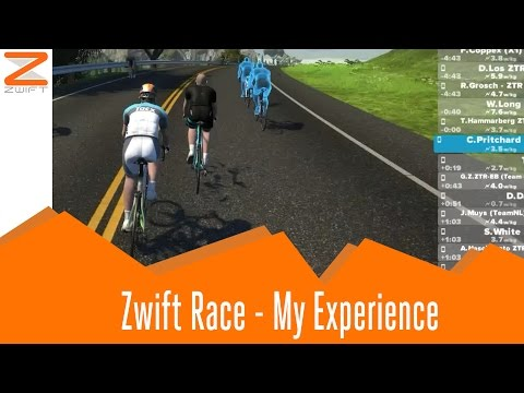 Zwift Racing My Experience