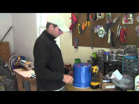 How to Build an Overhead Chicken Waterer