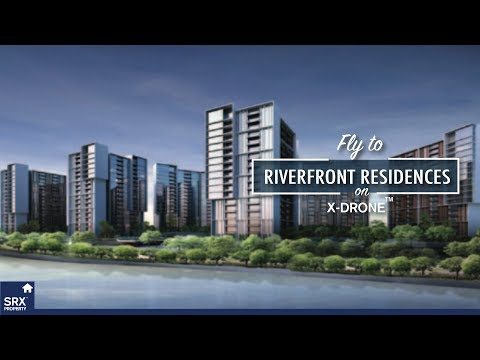 Riverfront Residences on X-Drone