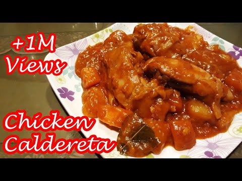 CHICKEN CALDERETA!!!