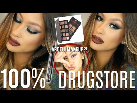 AFFORDABLE HOLIDAY GLAM | ARDELL MAKEUP?!