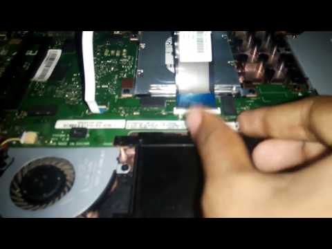 How to open Laptop Battery | ASUS X553M | Passionate Burger