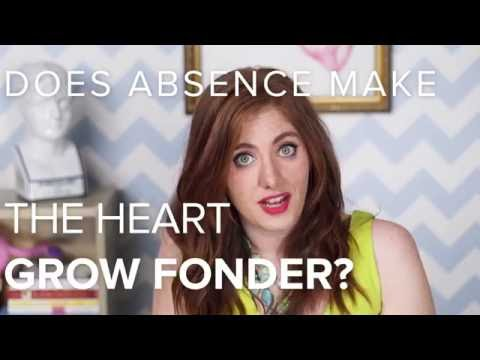 Does Absence Make The Heart Grow Fonder?   Love, Factually