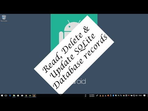 Android Tutorial (Kotlin) - 31 - Read Delete and update SQlite Database Records