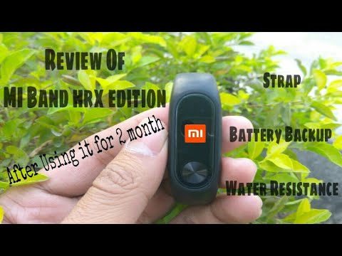Mi Band Hrx Edition Review After Using It For 2 Month |Battery Backup|Strap|Water Resistance|