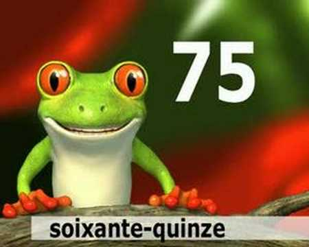 Learn French - French numbers 70-80