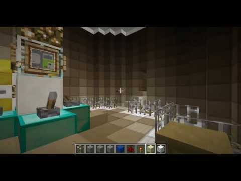 working tardis minecraft 1.5.1 wiring and more rooms (no mods)