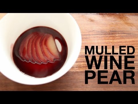 Simple, Delicious Wine-Poached Pears