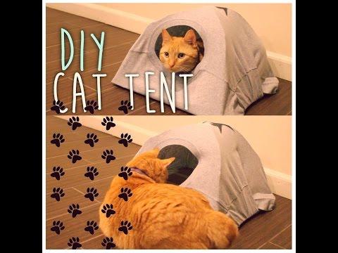 DIY Cat Tent | ArtsyPaints