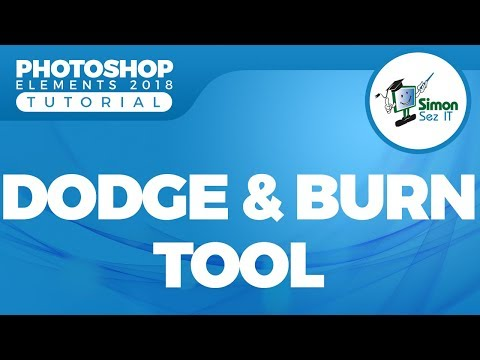 How to Use the Dodge and Burn Tool in Adobe Photoshop Elements 2018