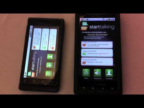 StartTalking: Hands free Text Messaging for Android