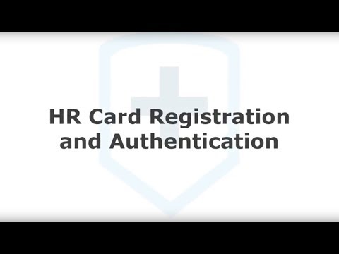 Isosec Virtual Smartcard: HR Card Registation and Authentication