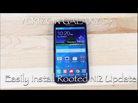 Verizon Galaxy S5 Easiest Install NI2 Rom OTA Update With Root