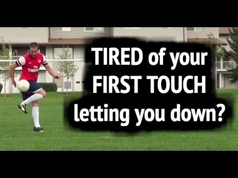 How to receive a soccer pass with a good first touch ► First touch soccer tips for beginners