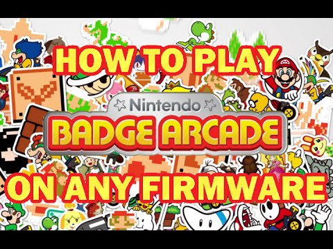 How to play Nintendo Badge Arcade WITHOUT updating your system