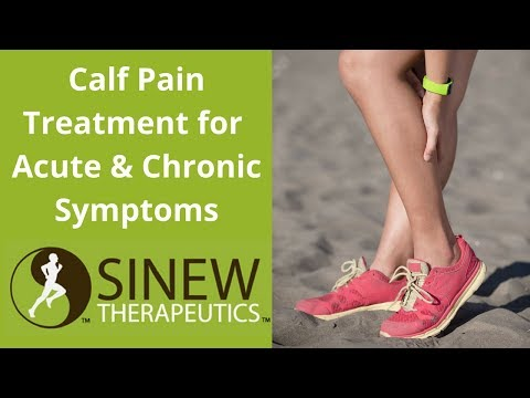 Calf Pain Treatment for Acute and Chronic Stage Symptoms