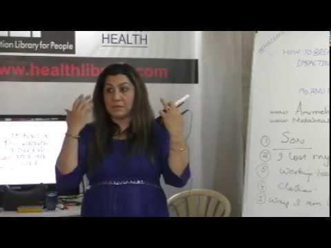 How to Break Family Patterns Impacting Health Part-4 By Ms. Anu Mehta on Health HELP Talks