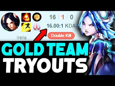 I TRIED OUT FOR A GOLD TEAM AND I DIDN'T MAKE IT?!?! INSANE REACTIONS!! (League of Legends)