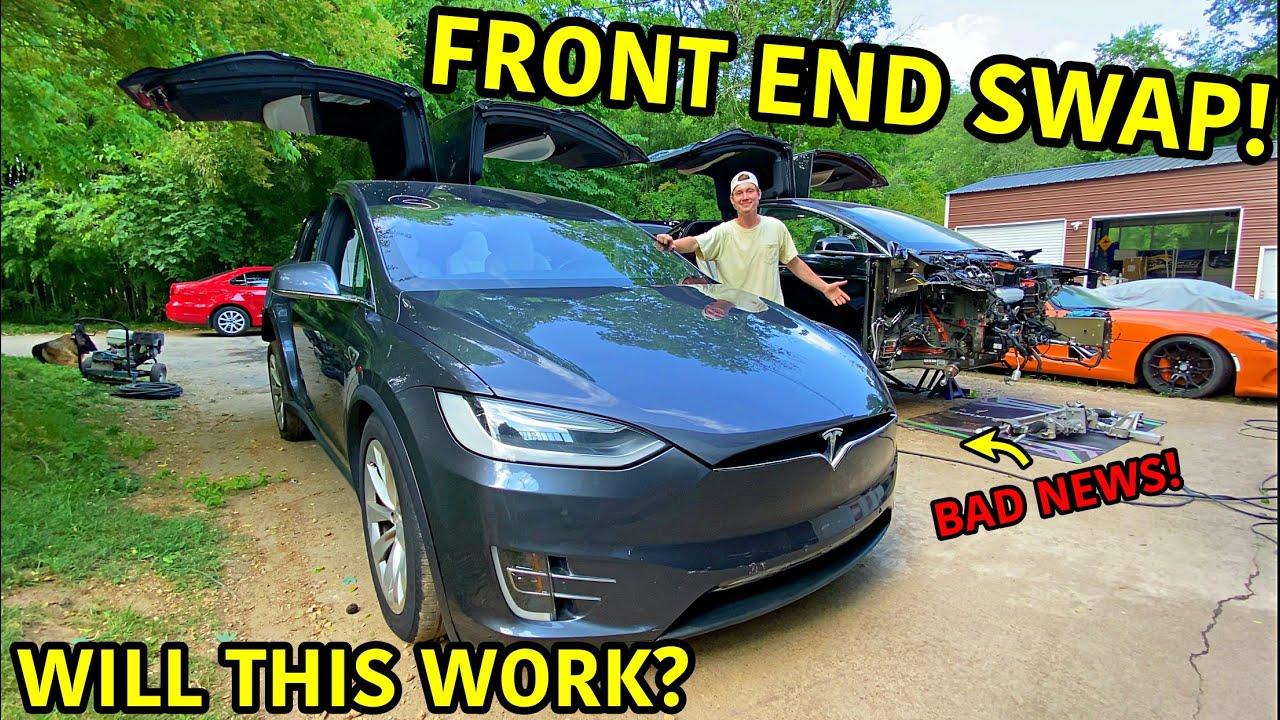 Rebuilding A Wrecked 2020 Tesla Model X Part 5