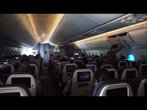 ANA 787 Dreamliner Economy Class Flight Experience KL - Narita, Japan