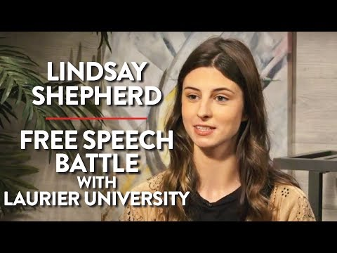 Lindsay Shepherd LIVE: Free Speech Battle with Laurier University