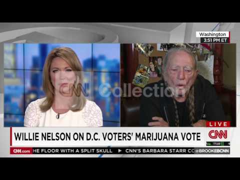 WILLIE NELSON-POT IN DC: HELP PEOPLE GET ALONG