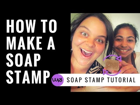 How To Make A Soap Stamp!