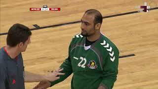 نهائي البطولة الخليجية لكرة اليد 2011 | الأهلي × الريان | ضربات الترجيح والفرحه