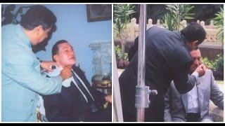 بوضوح - أسرار تعرض لأول مرة للرئيس الأسبق حسنى مبارك اثناء وضع المكياج .. شاهد قبل المكياج وبعده !!