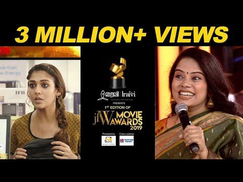 Xxx Mp4 Deepa Venkat Live Dubbing For Nayanthara At JFW Movie Awards 2019 3gp Sex