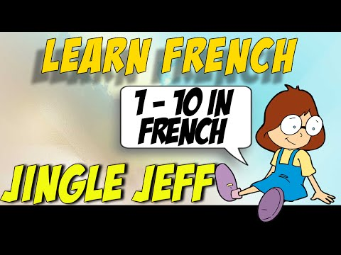 Count in French - Counting Song - Learn to Count From 1 - 10 in French