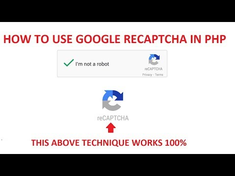 how to use google recaptcha in php