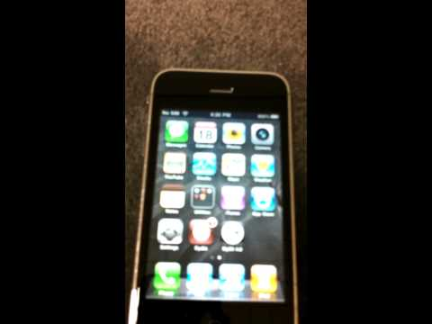 Unlocked / Jailbroken iPhone 3GS for sale on eBay (with MyWi 4.4.4)
