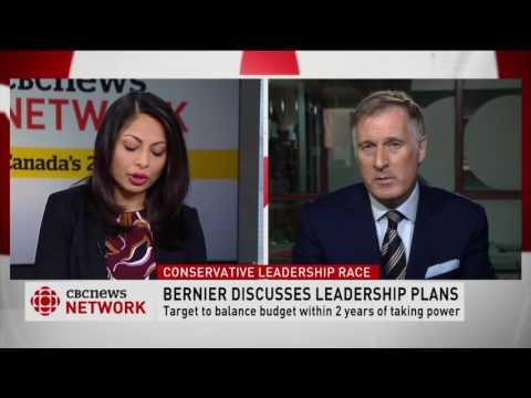 Feature interview with Conservative Party of Canada leadership candidate Maxime Bernier, MP
