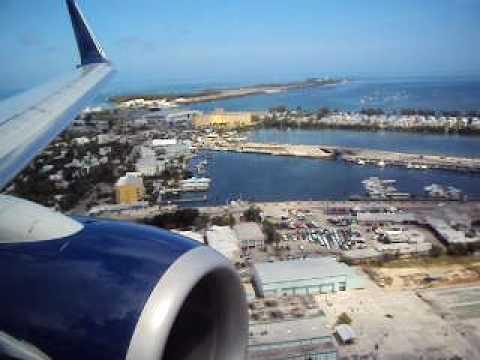 Landing in Key West FL.