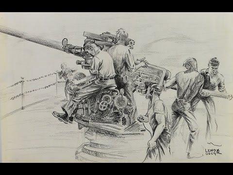Preservation of World War II US Coast Guard Historic Art