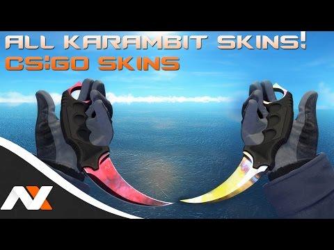 All Karambit Skins! - Counter-Strike: Global Offensive