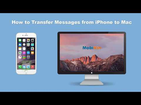 How to Transfer/Backup Text Messages from iPhone to Mac, Export SMS from iPhone to PC