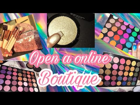 How to start your own Cosmetic line (online Boutique)