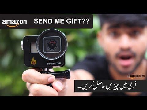 Amazon Send Me Gift??   Pakistan  