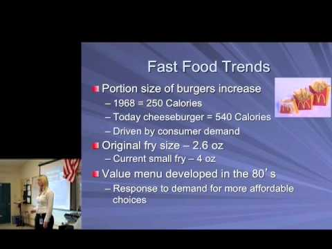 Fast Food and Obesity (Part 2)