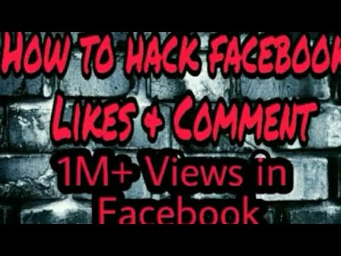 Hack facebook likes and comments[No Root]😱
