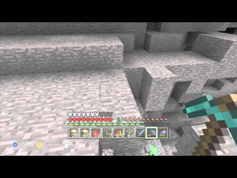 Super charged creeper on xbox 360 minecraft!