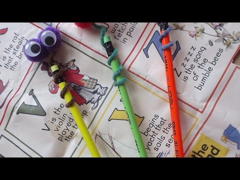 How To Make Googly-Eyed Snake Pencil Toppers - DIY Crafts Tutorial - Guidecentral