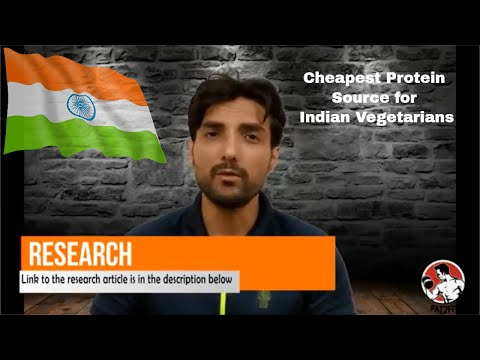 Cheapest Protein Source in India - Are Plant based proteins Incomplete - Difficulty for Vegetarians